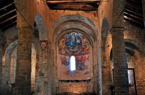 San Clemente de Tahull, interior2.