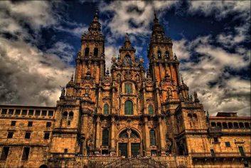 Santiago de Compostela Cathedral in Spain