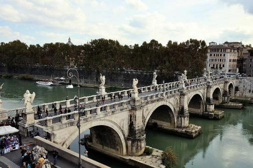 067 - Ponte Sant'Angelo, Roma