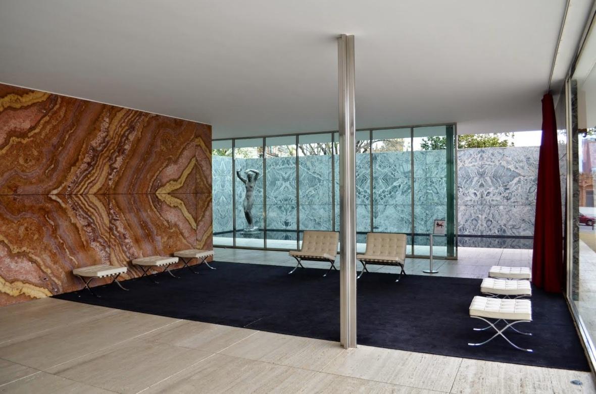 Pavelló Alemany de l'Exposició Internacional de Barcelona - Mies van der Rohe 1929 -016